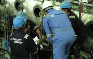 albwardy damen vacancy - mechanical supervisor