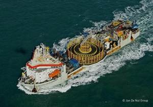 New Accommodation block for cable laying vessel was built in 20 days
