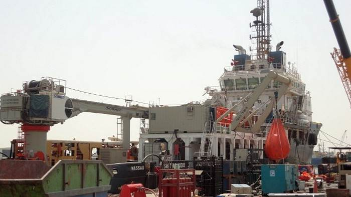 Diving Support vessel dynamic testing