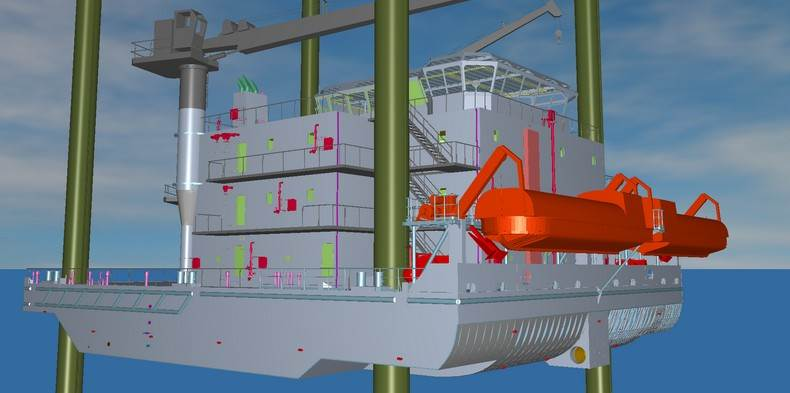 engineering services offshore rigs, offshore units