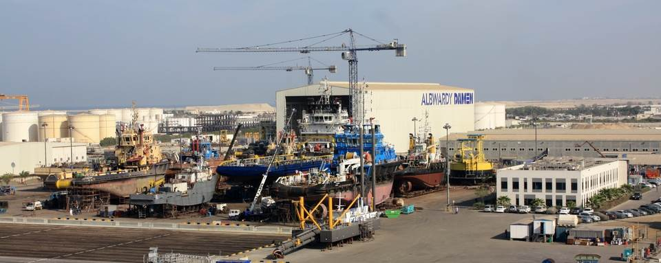 Albwardy Damen, a joint venture between Albwardy Investment and the Damen Shipyards Group