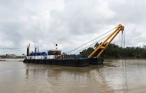 "Cutter Suction Dredger ""Apurbo"""