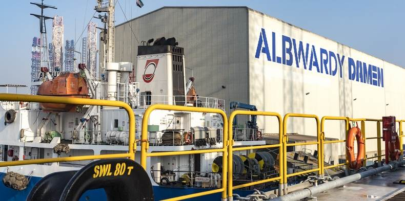 Albwardy Marine Engineering name change