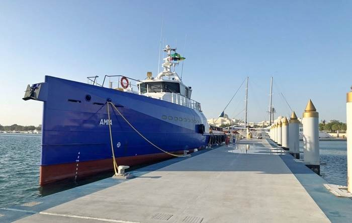 Damen Shipyards Group has delivered its first vessels to Marine Core & Charter LLC