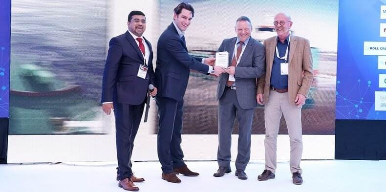 Albwardy Damen has received an award for its innovative design of the new Damen Multibuster 8020 shallow draught, multi-purpose vessel.