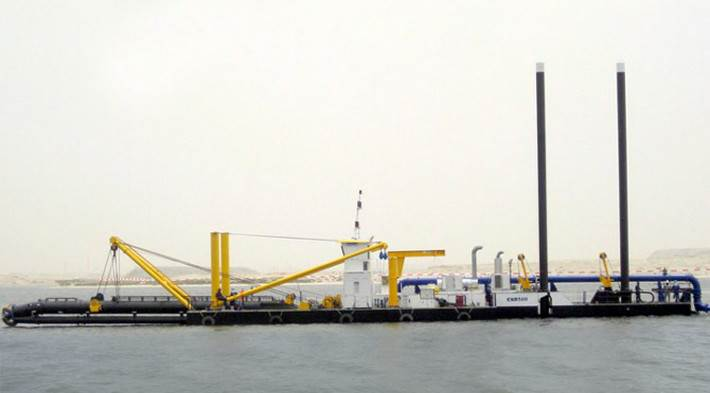 cutter suction dredgers, dredging