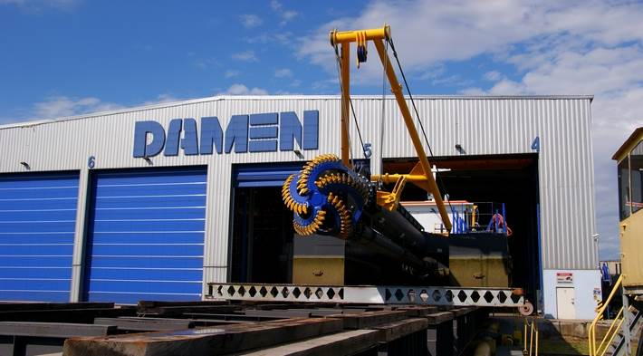 Damen offers a wide range of standard stationary Cutter Suction Dredgers