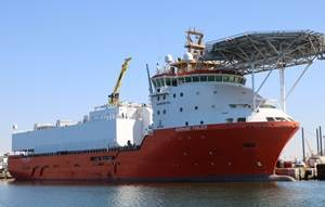 Normand Tonjer to a seismic vessel
