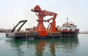 offshore crane installation, ship conversion projects