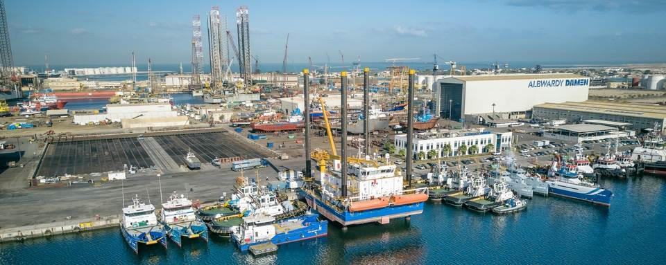 Shipbuilding and ship repair services for Middle East region
