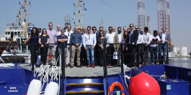 Delegates from that event and other industry professionals had the opportunity to visit Damen Shipyards Sharjah (DSS) for the 'Damen Experience'