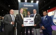 Jawar Al Khaleej Shipping LLC signed a contract with Damen for the supply of three vessels